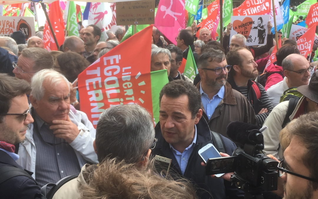 Manif' anti-PMA sans père du 19/01 : communiqué de Jean-Frédéric Poisson