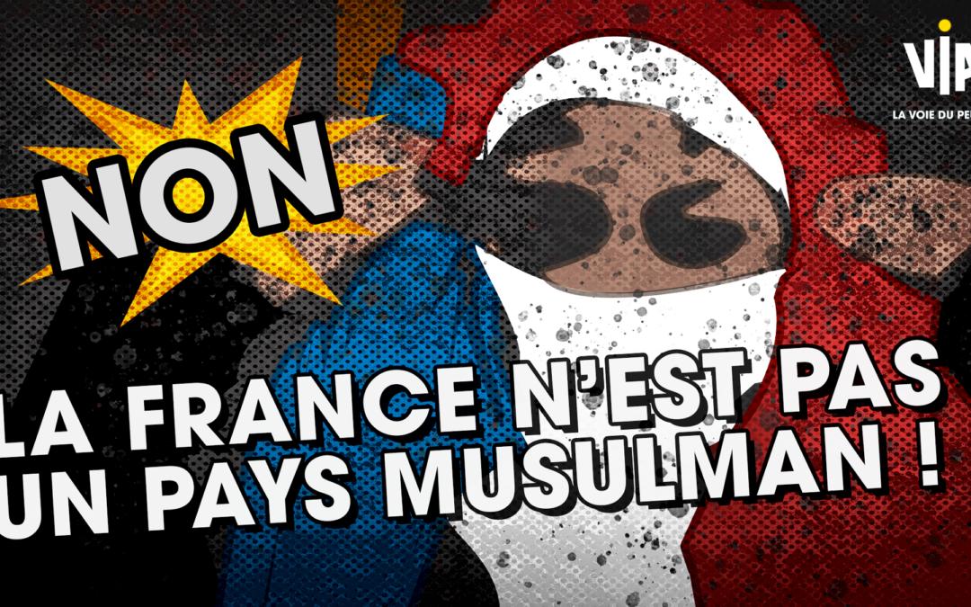 [Communiqué de Presse] NON, Monsieur l'Ambassadeur, la France n'est pas un pays musulman!