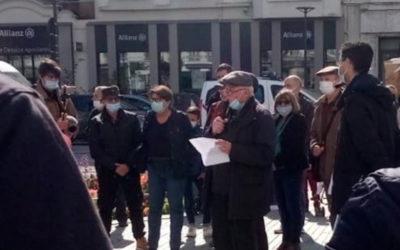Discours de notre délégué des Côtes d'Armor à Saint-Brieuc