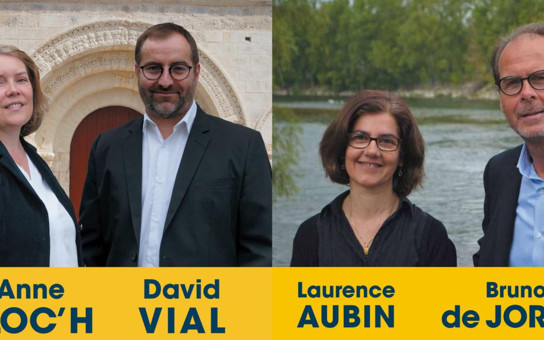 Les candidats de VIA en Indre-et-Loire se présentent à vous
